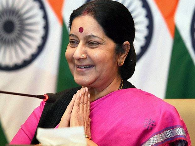 sushma swaraj helping women